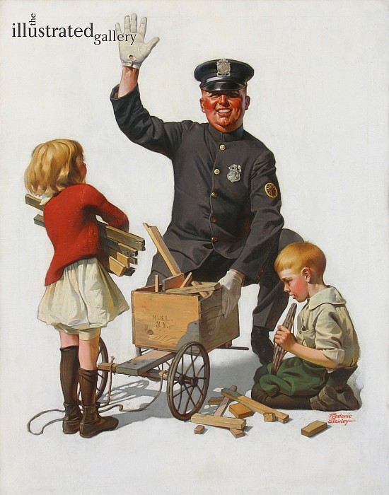 The Soapbox Wreck, The Saturday Evening Post Cover