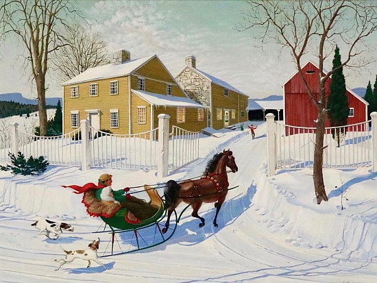 Chasing The Sleigh