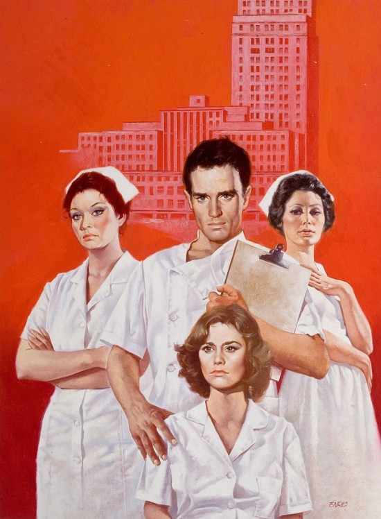 Nurses, Literary Guild, Paperback Cover