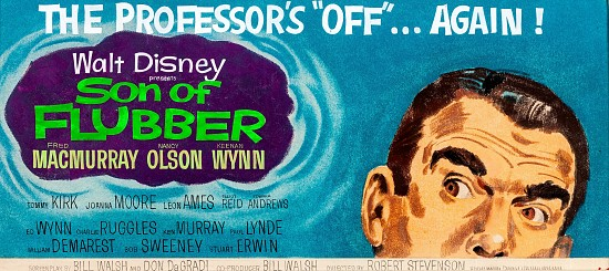 Son of Flubber, Walt Disney Billboard Advertisement