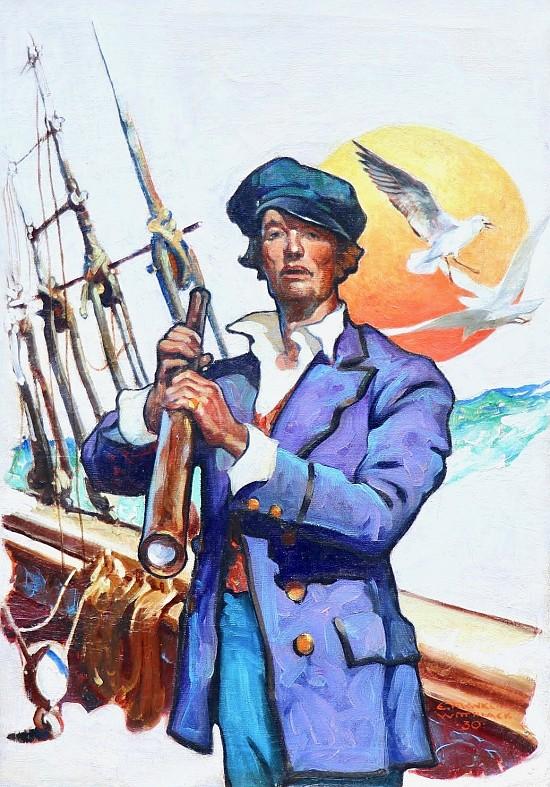 Sailor, Elks Magazine Cover