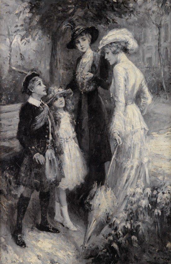 """""""Donald took a Quick Step Forward. `Are You Her Mother?' He Asked Eagerly."""""""