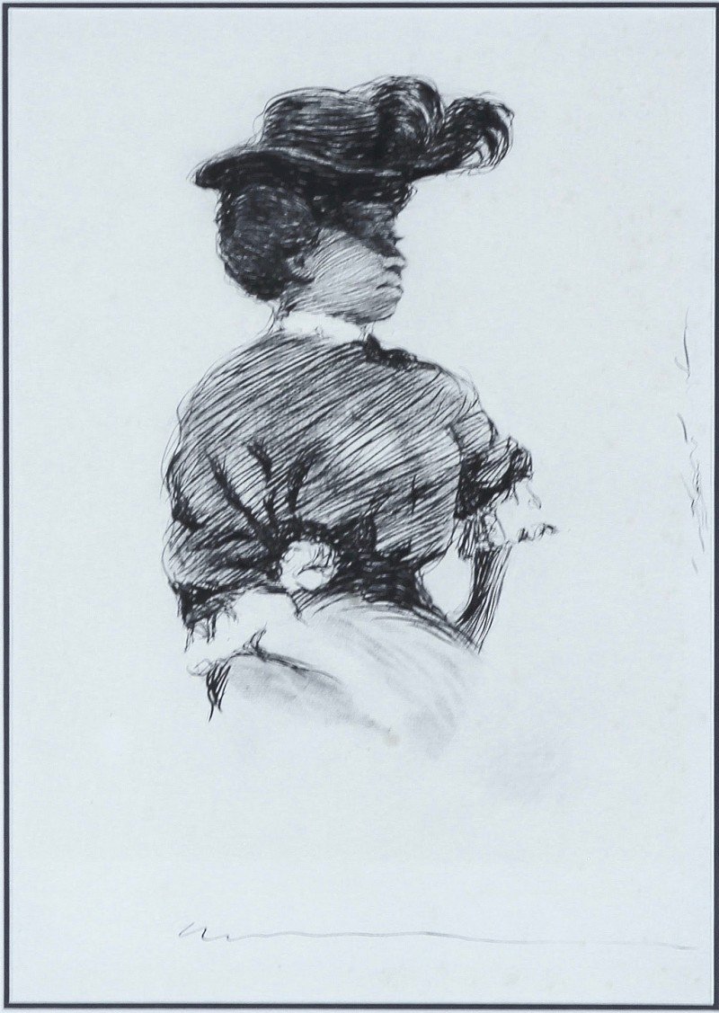 Charles Dana Gibson Original Illustration Artwork For Sale Exploded View Diagram Randal Birkey New