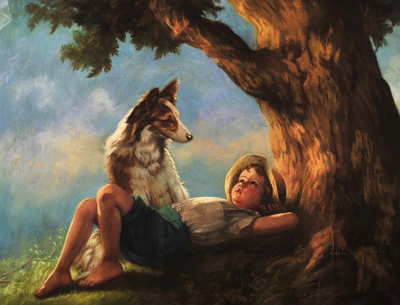 Adelaide Hiebel Paintings Value