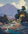 The Old Mill by Maxfield Parrish
