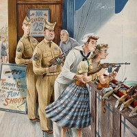 Shooting Gallery, Post Cover