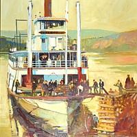 Fred C. Dobbs Paddle Steamer