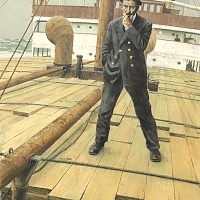 Man on Shipdeck