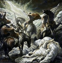 Medieval Fight Scene