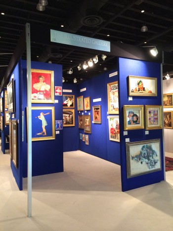 Our Booth at the Palm Beach Art Show