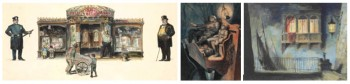 Works by John Sloan & Everett Shinn