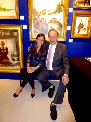 Jordan & Holly Berman at the Palm Beach Art Show