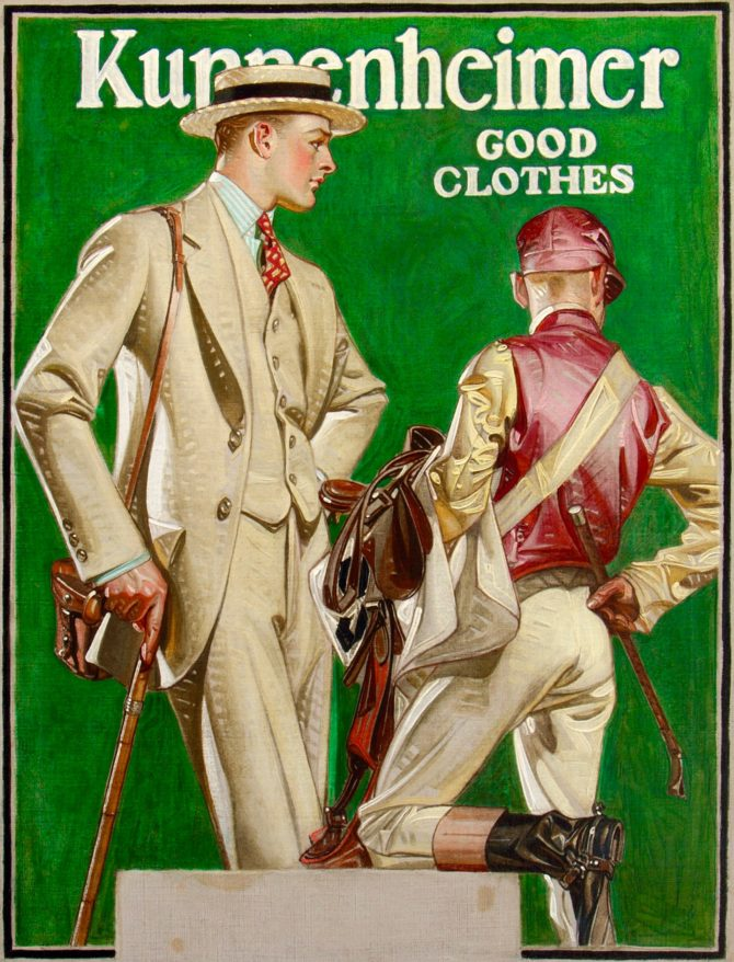 3-36, Kuppenheimer Good Clothes, Joseph Christian Leyendecker